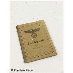 Inglorious Basterds Soldbuch Movie Props