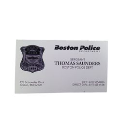 Patriots Day Tommy (Mark Wahlberg) Movie Props