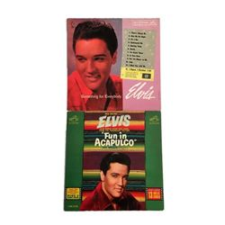 Elvis Presley 1960s Soundtrack Record Albums Fun in Acapulco and Something for Everybody