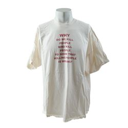 The Life of David Gale Why Kill People T-Shirt Movie Costumes