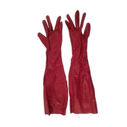 Resident Evil: Retribution Axe Man (Ray Olubowale) Gloves Movie Props