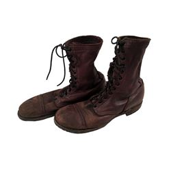 Captain America: The First Avenger Dum Dum Dugan (Neal McDonough) Leather Boots Movie Costumes
