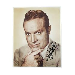 Bob Hope Signed Color Photo