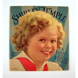 Shirley Temple 1936 Great Big Book To Color