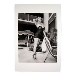Marilyn Monroe Posing In Swimsuit Photo
