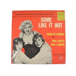 Marilyn Monroe Some Like It Hot Promo LP