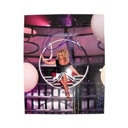 Pam Anderson Signed Color Photo