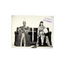 The Ten Commandments Yul Brenner And Anne Baxter Original Rare Studio Photograph