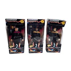 Star Trek Generations 'Playmates' Collector Series Action Figures