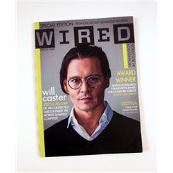 Transcendence 'Wired' magazine Will Caster (Johnny Depp) Movie Props