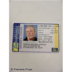 Warrior Paddy (Nick Nolte) Driver's License Movie Props
