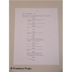Seven Psychopaths Screen Used First Script Page Movie Props
