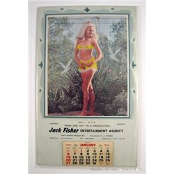 Pin Up Refreshing 1974 Calendar