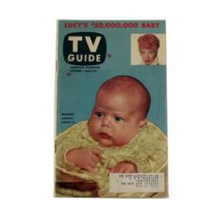 TV Guide Lucille Ball and Her $50,000,000 Baby #1 Issue