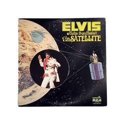 Elvis Presley Aloha From Hawaii VG+ Quadra Disc Two Record Set