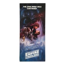 Star Wars Empire Strikes Back Vintage Original Pre-Release Screening Ticket