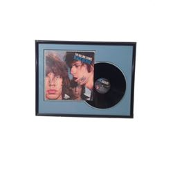 """The Rolling Stones """"Black and Blue"""" Album Signed & Framed"""