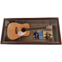 Richie Havens Signed Guitar Framed