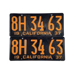 The Age of Adaline Adaline Bowman (Blake Lively) License Plates Movie Props