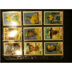 "(17) 1982 Autographed Base Ball Cards including ""Jim Spencer"", ""Brian Kingman"", ""Mike Davis"", ""Rob P"