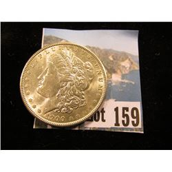 1900 P U.S. Morgan Silver Dollar, Choice Brilliant Uncirculated.