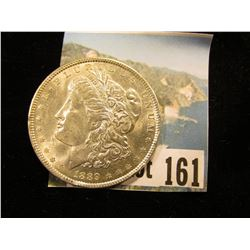 1889 P U.S. Morgan Silver Dollar, Brilliant Uncirculated. A few small rim ticks.