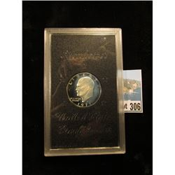 1971 S 40% Silver Eisenhower Proof-no box, bid $9.50