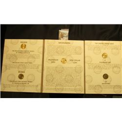 (5) 2000 Dollar coins Sacagawea Millennium Edition - contains