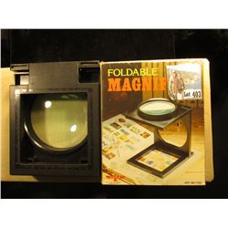 Large Foldable Magnifier. New in box.