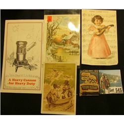 "Advertising match book for ""Noma Toys for Girls and Boys Sold At All Good Stores""; ""J.H. MahoneyDeal"