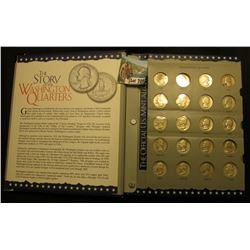 1932-64 Nearly Complete Set of Silver Washington Quarters in an Official U.S. Mint Coin album. Inclu