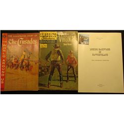 "Classic Illustrated ""The Virginian Owen Wister"", No. 150 15c, May 1959; December 1959 ""The Illustrat"