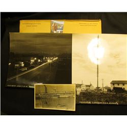 "Pair of Basil Clemon's Black & White Photos 8"" x 10"": ""Snow Gauge Elmendorf Field Alaska"" & (G12-601"