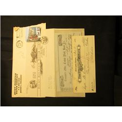 "1947 Letter and stamped envelope from ""Rocky Mountain Motor Company …Denver, Colorado"" asking a Mr."