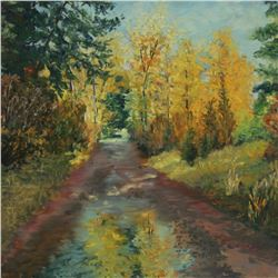 """Road Reflections"" by Elene Weege"