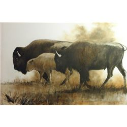 """Prairie Dust"" by Robert ""Running Wolf"" De Leon"