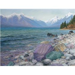 """Hues of Glacier"" by Janet Sullivan"