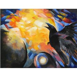 """Raven Dropping the Light"" by Hita von Mende"