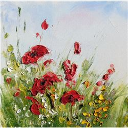 """Poppies"" by Katherine McNeill"