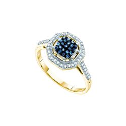 0.25CT Diamond Anniversary 10KT Ring Yellow Gold