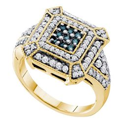 0.60CT Diamond Anniversary 14KT Ring Yellow Gold