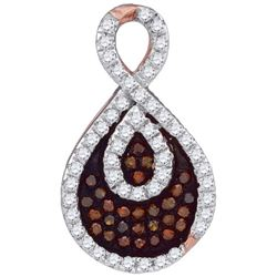 0.25CT Diamond Micro-Pave 14KT Pendant White Gold
