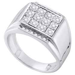 0.25CT Diamond Fanuk 10KT Ring White Gold