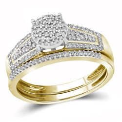 0.35CT Diamond Bridal 10KT Ring Yellow Gold - GD104570