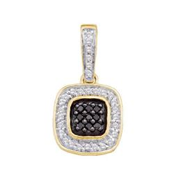 0.25CT Diamond Anniversary 14KT Pendant Yellow Gold