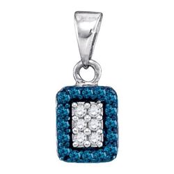 0.20CT Diamond Micro-Pave 10KT Pendant White Gold