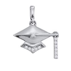 0.12CT Diamond Anniversary 10KT Pendant White Gold