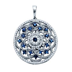 0.50CT Diamond Anniversary 10KT Pendant White Gold