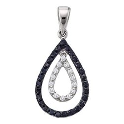 0.50CT Diamond Anniversary 14KT Pendant White Gold