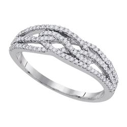 0.33CT Diamond Anniversary 10KT Ring White Gold